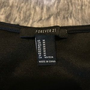 Forever 21 Tops - Black Crop Top